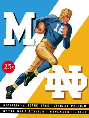 1942_notre-dame_vs_michigan